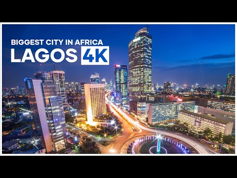 Experience Lagos in 4K | Biggest city in Africa