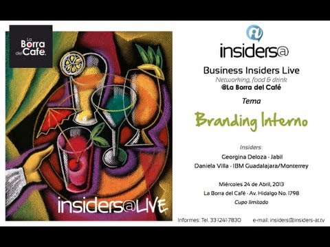 Branding Interno · Business Insiders@Guadalajara Promo