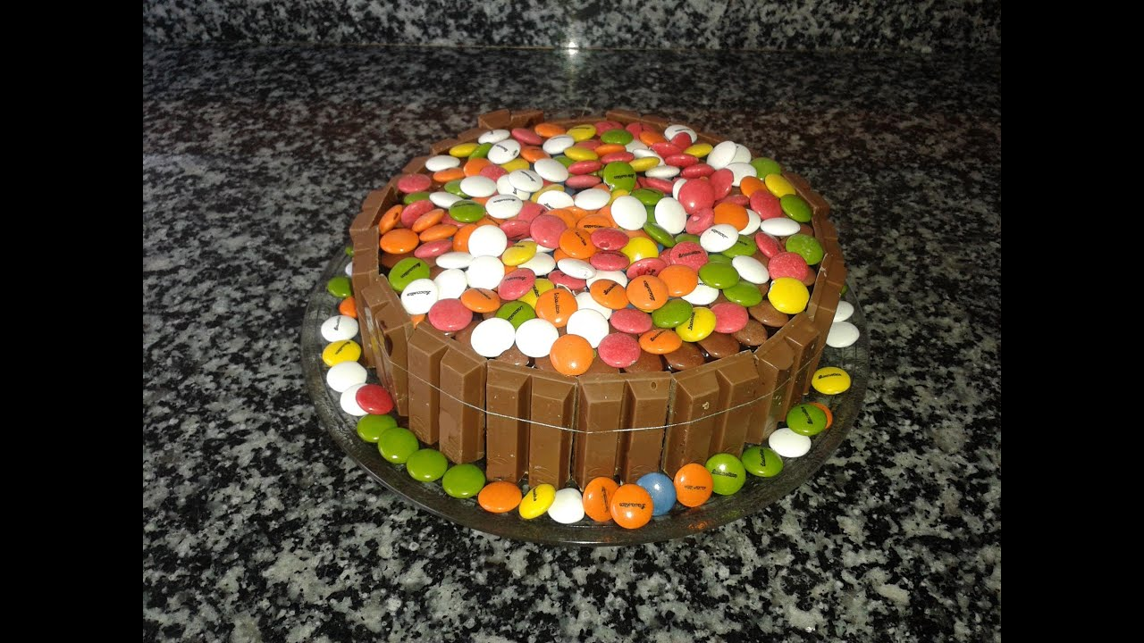 Tartas Infantiles Mercadona Tarta De Kit Kat Y Lacasitos Hd Youtube