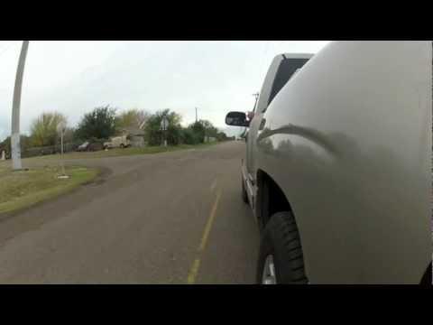 GoPro Hero 2 on Chevy Silverado