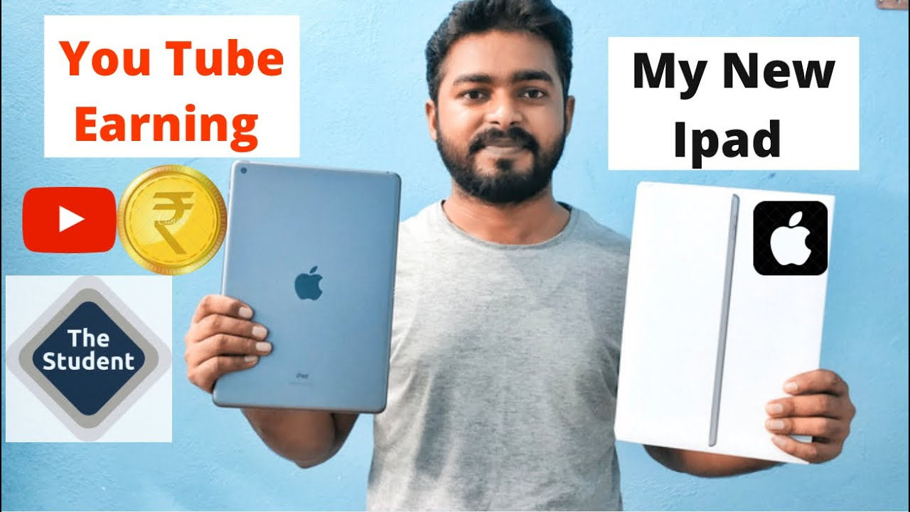 My New ipad ( You Tube Earning) finally delivered ॥ You tube earning से Apple ipad