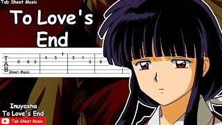 Inuyasha - To Love's End (Futari No Kimochi) Guitar Tutorial