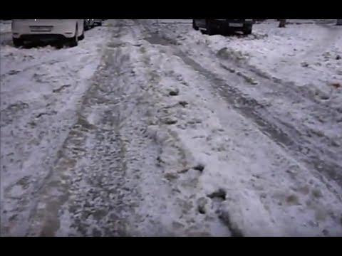 Воронеж 6 02 18.Мороз и гололёд