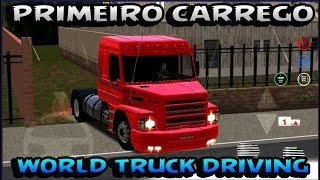 World Truck Driving Simulator!!! Primeiro carrego Scania 113