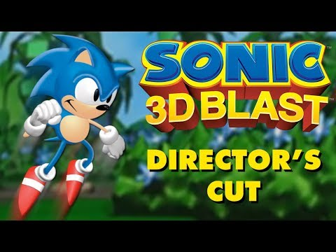Sonic 3D Blast Director's Cut - 100% Walkthrough