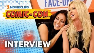 Tara Reid & Cassie Scerbo 'Sharknado 3: Oh Hell No' Exclusive Interview - Comic-Con (2015) HD