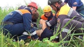 Спасатели ДВРПСО МЧС России оказали помощь пострадавшему в ДТП