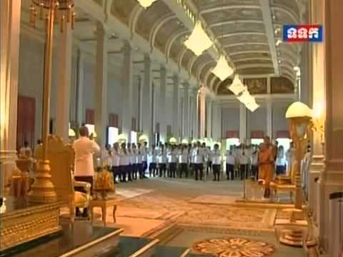 Oath taking ceremony of CNRP at Royal Palace,Phnom Penh,Cambodia,Khmer news,TVK 05 08 2014