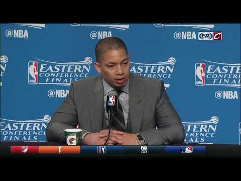 Tyronn Lue postgame after Celtics stun Cavs in Game 3 | NBA Playoffs