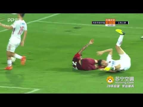 2018 CHA CSL Round 21 Hebei CFFC vs Shanghai SIPG