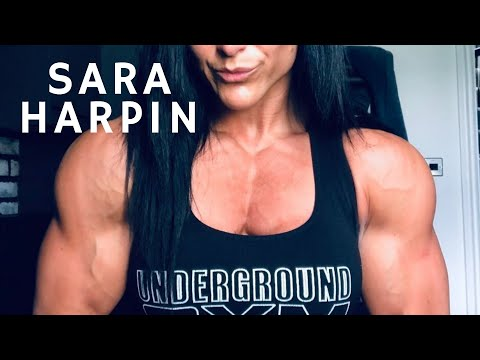 Sara Harpin Huge and Ripped Female Bodybuilder Muscle