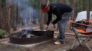 Campfire Recipes: Smoky Campfire Breakfast Sandwiches