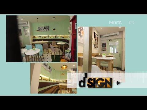 D'SIGN - Desain Italy Menarik Chic & Classic Gelato Cafe