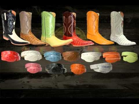 Botas, sombreros, cintos, zapatos y ropa vaquera