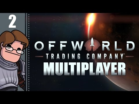 Let's Play Offworld Trading Company Multiplayer Part 2 - Master's Degree in Debt