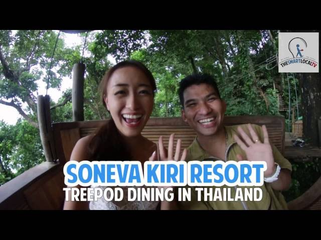 Soneva Kiri - Dine in a floating tree 350km away from Bangkok!
