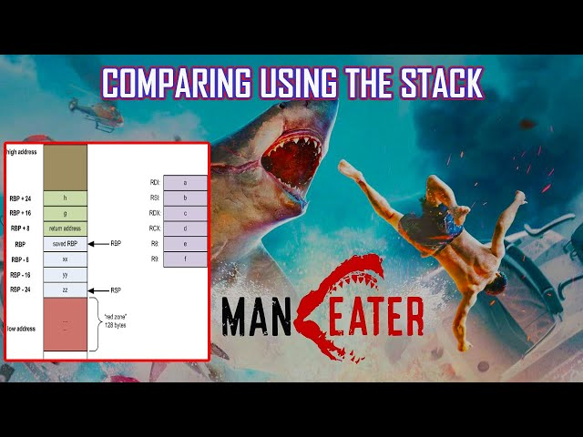 MANEATER Inf Health: Compare Using The Stack