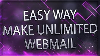 How TO Make Free Unlimited Webmail