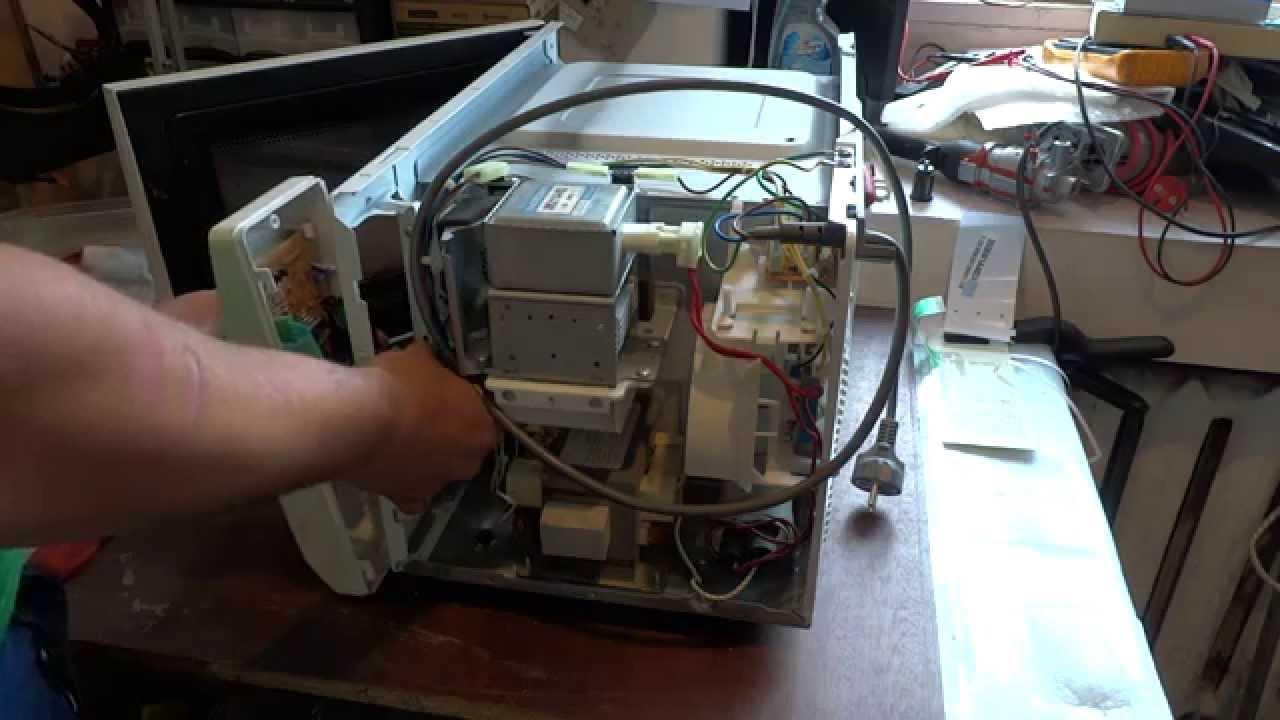 микроволновая печь daewoo kog-6c2bs электрическая схема