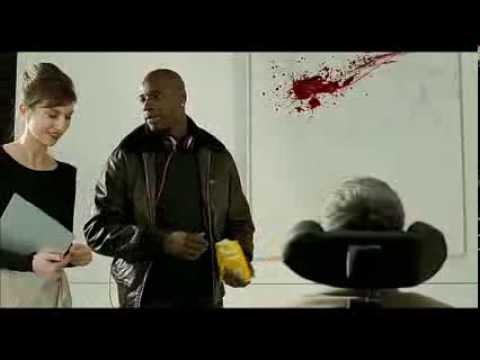 Неприкасаемые 1+1. Фрагмент с картиной из фильма