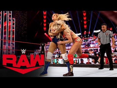 Charlotte Flair vs. Lacey Evans: Raw, Jan. 11, 2021