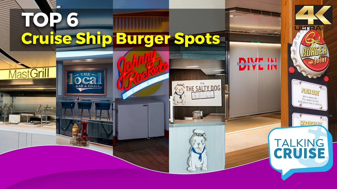 Which Cruise Line has the Best Burgers? (Our Top 6 Picks)