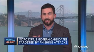Microsoft: Three midterm candidates targeted by phishing attacks