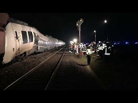 Bilan incertain suite à une collision de trains en Allemagne