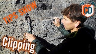 How To Clip When Sport Climbing With Jonathan Siegrist | Climbing Daily Ep.1133