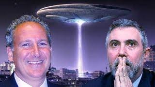 Peter Schiff 2011 - Classic: Paul Krugman and his Alien Invasion!!!