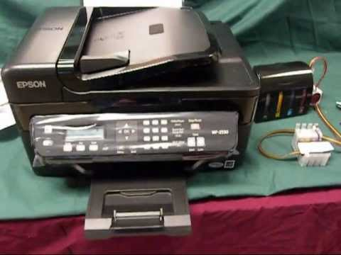Continuous Ink Supply System For Epson Workforce Wf 2540