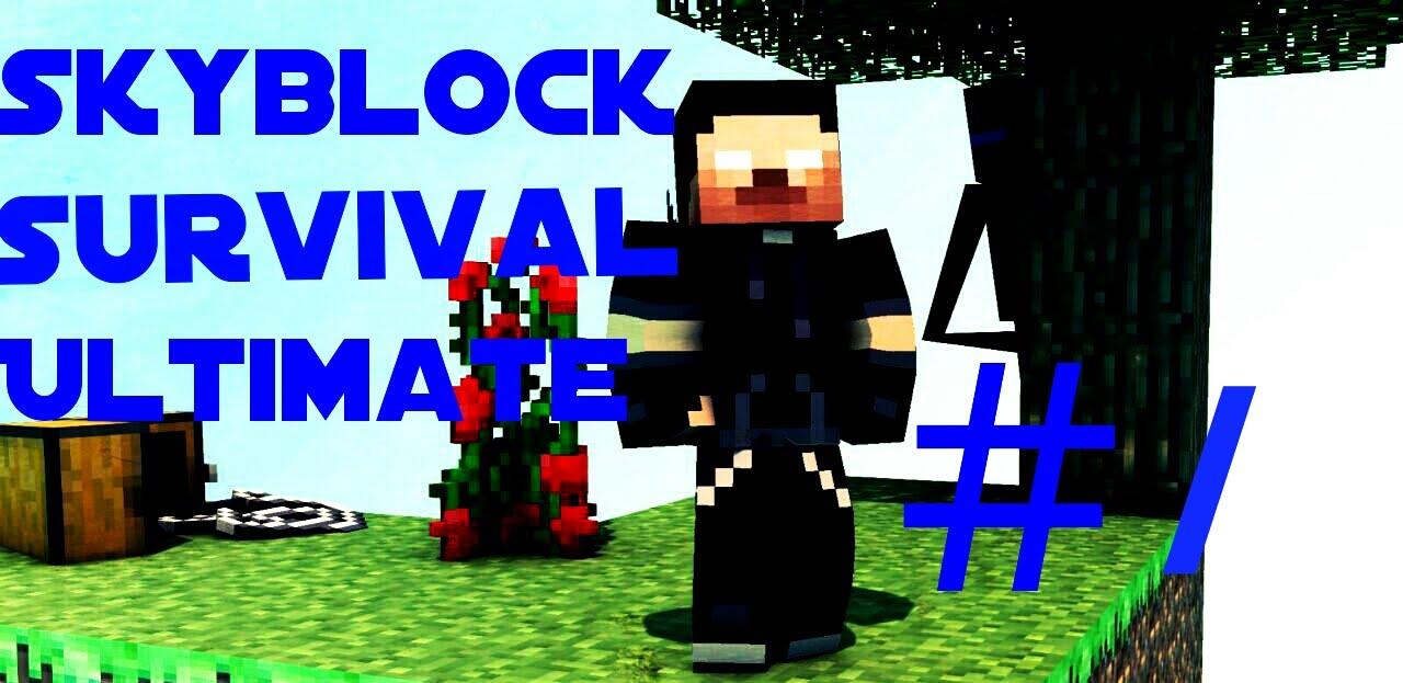 Download Skyblock Survival Ultimate #1 -Başlangıç Bile Ölüm