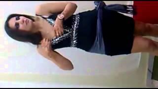 بنت بتججن ترقص خفيه اهلها رقص جنسي