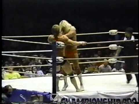Michael Hayes vs Kevin Von Erich  First Blood Match - Hawaii