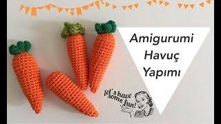 Amigurumi Havuç Nasıl Yapılır?   How to make amigurumi carrot?