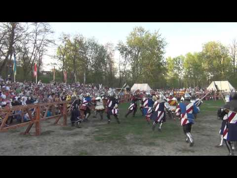 Medieval Knights from the USA vs. Russia in new extreme sport