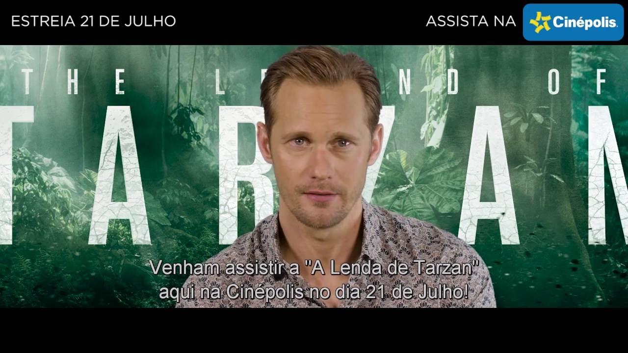 Alexander Skarsgård te convida para assistir A Lenda de Tarzan