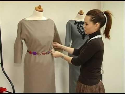 Украшаем обычное платье