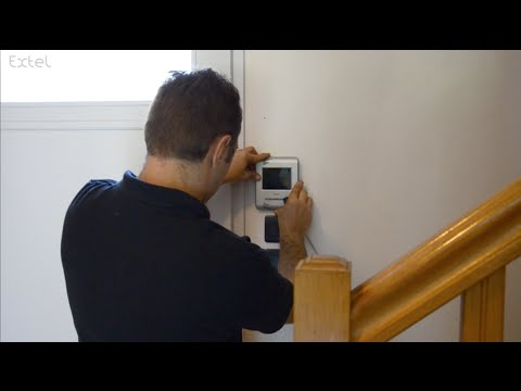 wevp259 installation visiophone extel doovi. Black Bedroom Furniture Sets. Home Design Ideas