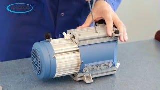 Servicing a Vacuubrand Diaphragm Pump