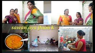 Subha Se Lekar Sham Tak full day routine morning to night enjoy Kijiye  unique recipe 😙😙