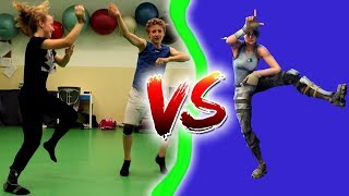FORTNITE DANCE CHALLENGE IN REAL LIFE | Teri Ice