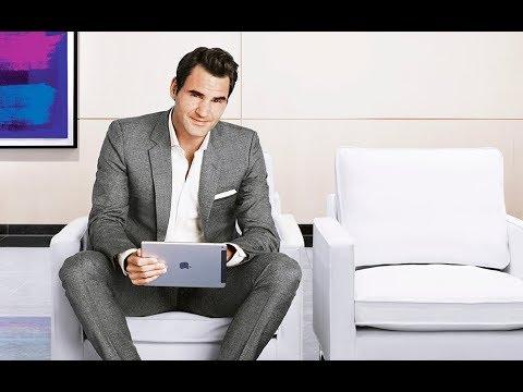 Hanspeter Schneider Roger Federer Credit Suisse