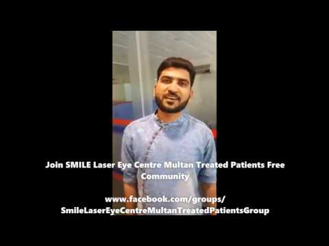 Review of Mohammad Usman of Zeiss TransPRK ASA at SMILE Laser Eye Centre Multan