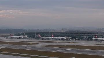 Live ATC + FlightRadar24 + WebCam @ Zurich LSZH