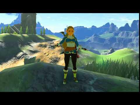 Breath of the Wild - Playable Princess Zelda Mod (Update)