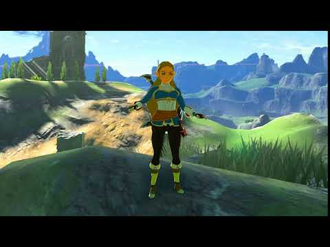 Breath of the Wild - Playable Princess Zelda Mod (Update)