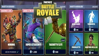 FORTNITE *SHOP* 27/06 | SKIN WUKONG - SKIN MONDIALI 2018 - BREAK DANCE - TURBOLENTO