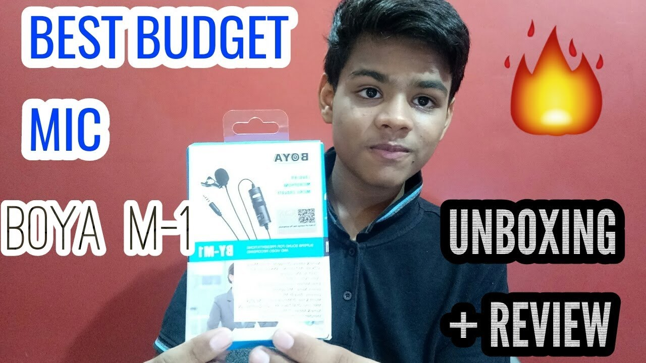 BEST BUDGET MIC FOR BEGINNERS YOUTUBERS - BOYA M-1 UNBOXING + REVIEW | #TECHDAY