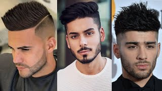 Mens Short Hair for Summer   Spiky Hairstyle 2019   Stylish Summer Haircut for Men's 2019